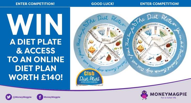 Win a diet plate and access to an online diet plan worth £140
