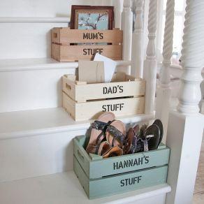 Personalised storage crates