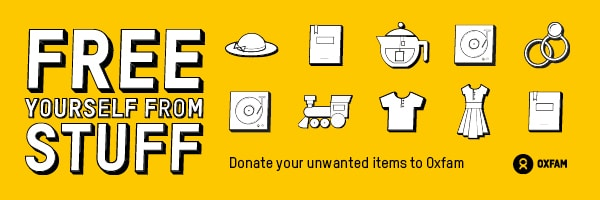 Donating to Oxfam_Clear Your Clutter