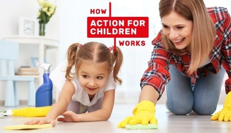 Chaotic clutter: how Action for Children helps...