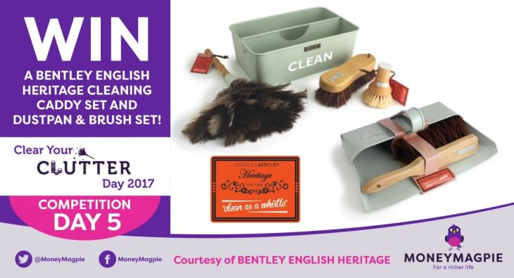 Day 5 - Win a Bentley English Heritage Cleaning Caddy Set and Dustpan & Brush Set