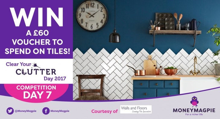Day 7 - Win a £60 voucher to spend on tiles