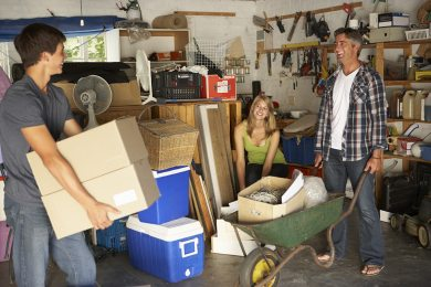Expert advice: how to declutter your garage...