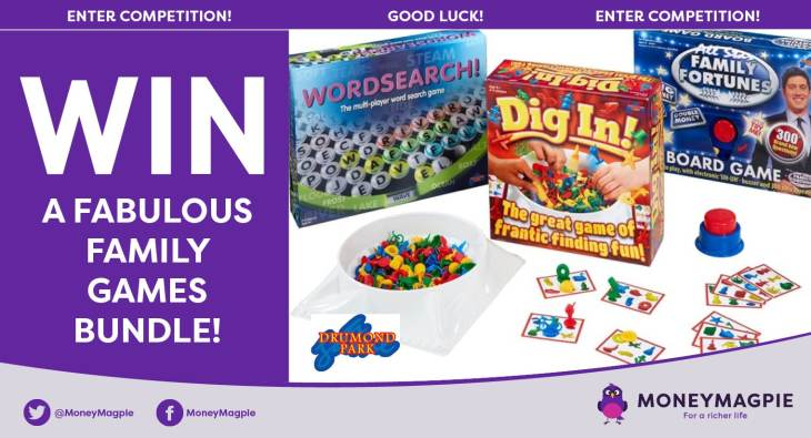Win a fabulous family board games bundle