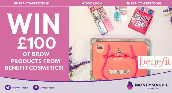 Win £100 of brow products from Benefit Cosmetics