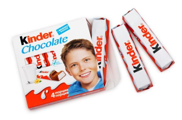 Kinder chocolate bars