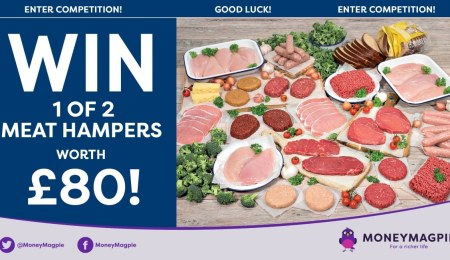 Win 1 of 2 meat hampers worth...