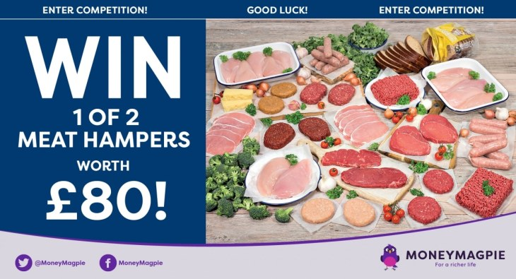 Win 1 of 2 meat hampers worth £80