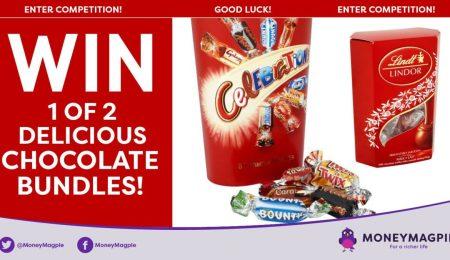 Win 1 of 2 delicious chocolate bundles!