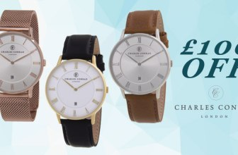 EXCLUSIVE: £100 off Charles Conrad Watches