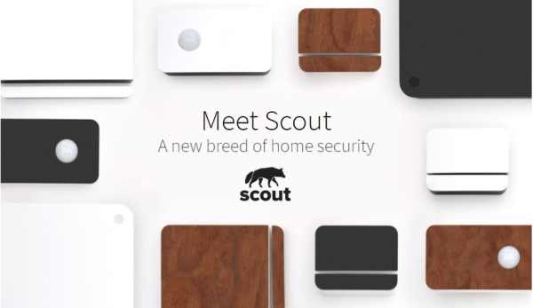Scout home security sensor