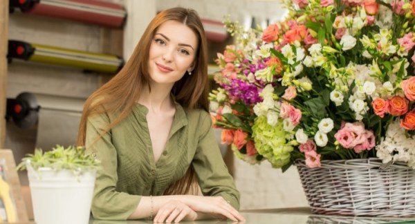 Florist shop owner