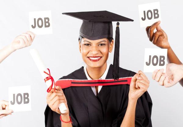 University graduate job prospects concept image