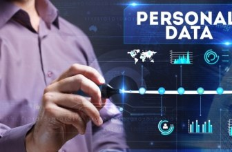 Personal data concept image