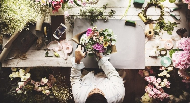Make money by starting your own floristry business