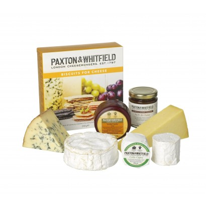 Paxton & Whitfield hamper