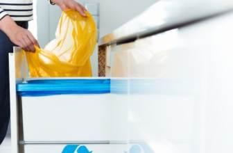 Kitchen recycling bin