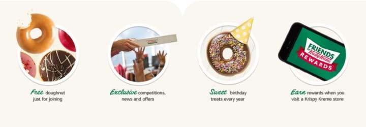 Friends of Krispy Cream Benefits