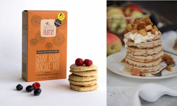 Grainy Brainy Gluten-Free Pancake Mix by Sweetpea Pantry