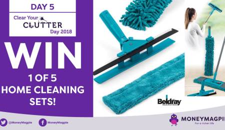 Day 5 - Win 1 of 5 Home Cleaning Sets