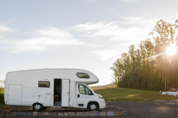 Motor Home in the countryside