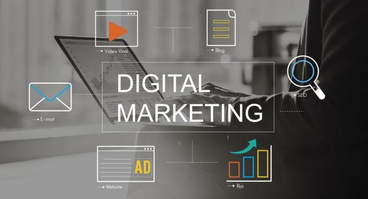 Digital Marketing concept image