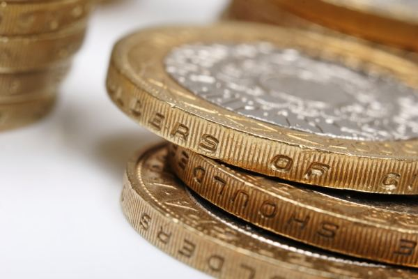 Stack of £2 Coins