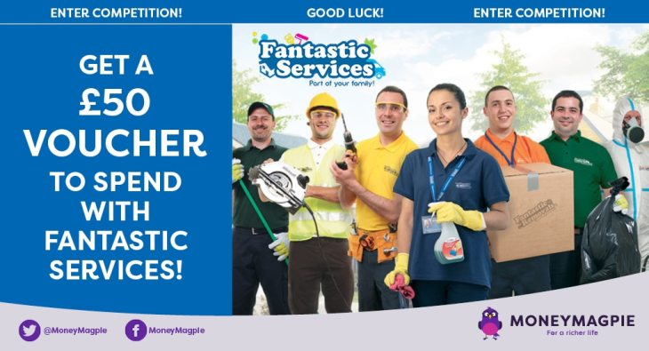 Win a £50 voucher to spend with Fantastic Services