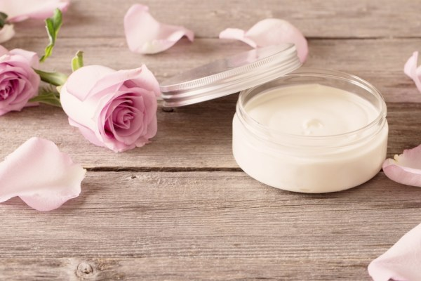 Homemade anti-ageing cream