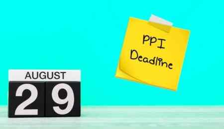 PPI claims exactly one year away from deadline