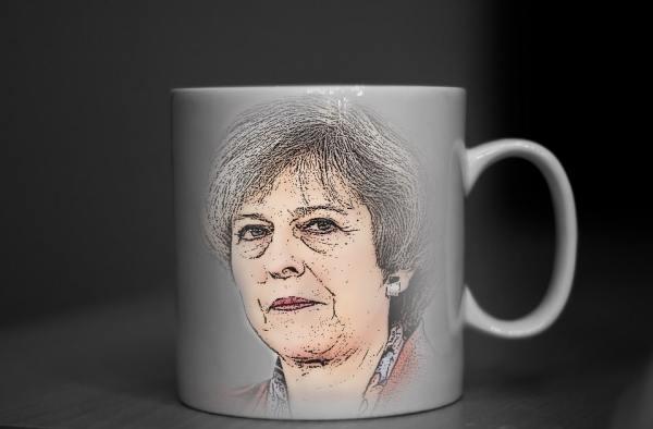 Theresa May Mug
