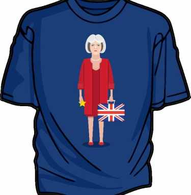 THeresa May T-shirt graphic
