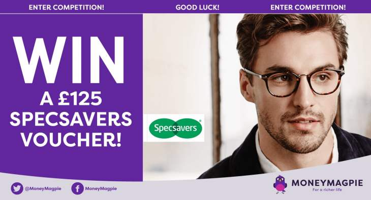 Win a £125 Specsavers voucher