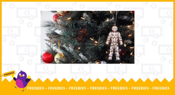 Prostate UK Christmas tree decoration