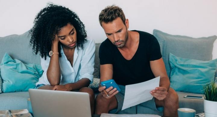 A good way for couples to share bills is to have a joint account for household costs.