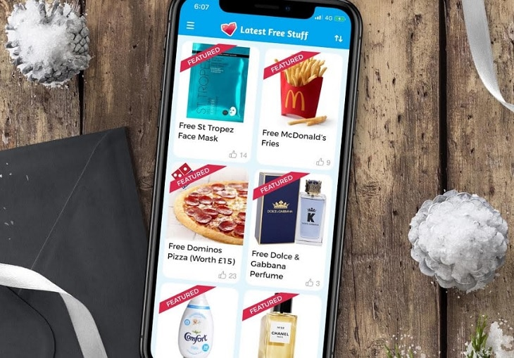 Get 100s of freebies delivered to your door with this new app