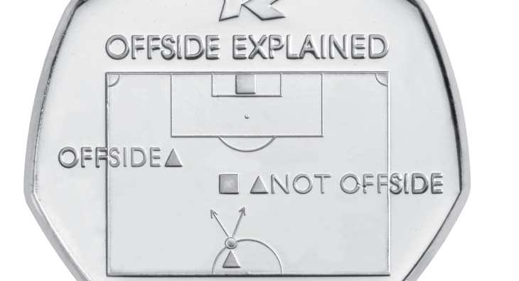 The offside rule 50p could be worth over £10