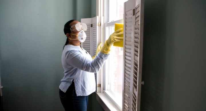 Clean your business premises during coronavirus