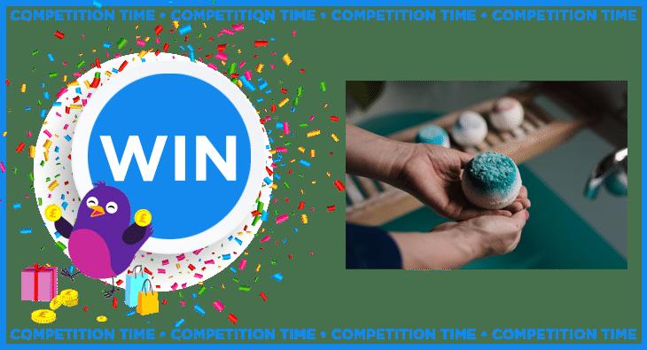 Win a £20 bath bomb voucher