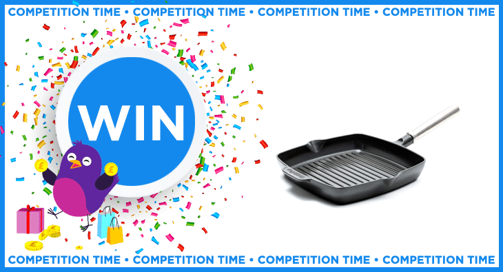 Win a Featherweights grillpan worth £85