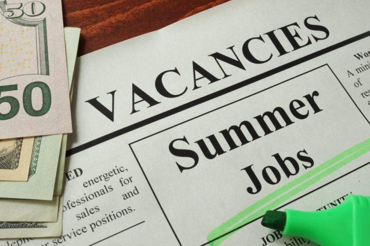 Summer jobs in 2020