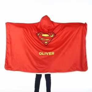 Superman Hooded Blanket