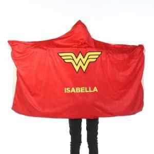 Wonder Woman Hooded Blanket