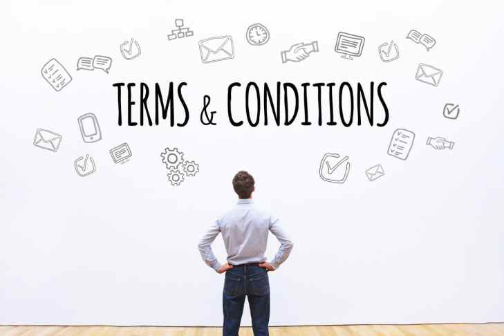 Terms and Conditions might be ripping you off