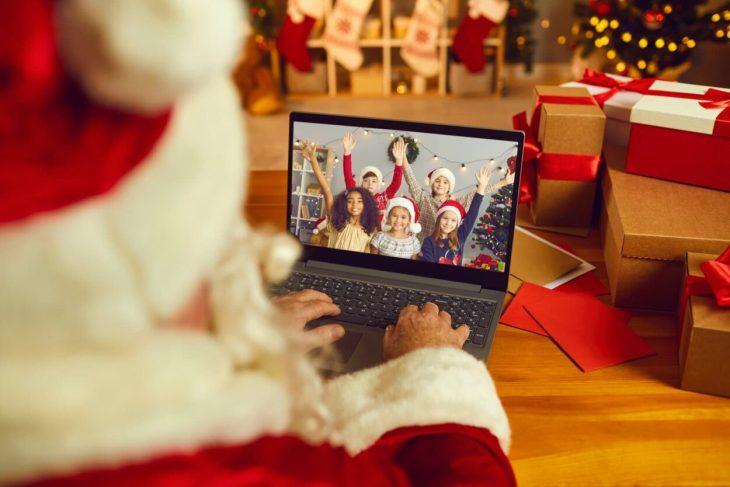 Make money as a virtual Santa