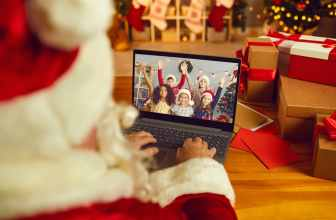 Make money as a virtual Santa