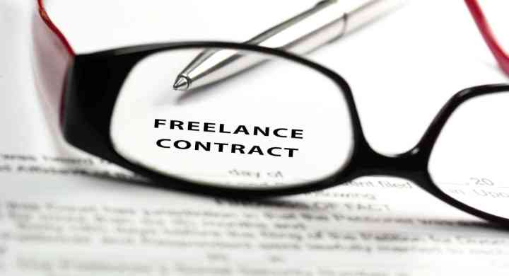 Finding freelance clients means strong contracts