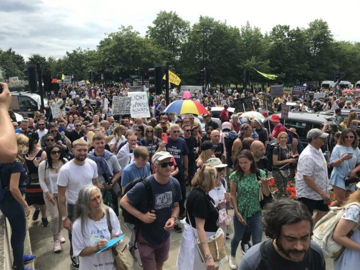 Freedom march London