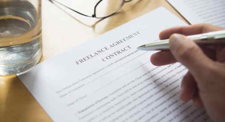 Freelance contract or your client's contract?