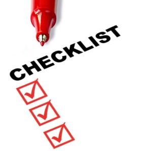 Forex transaction checklist